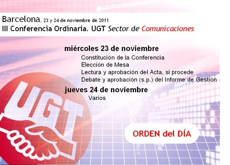 III Conferencia Sector Estatal Comunicaciones UGT