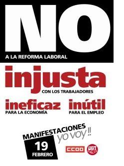 NO a esta reforma laboral