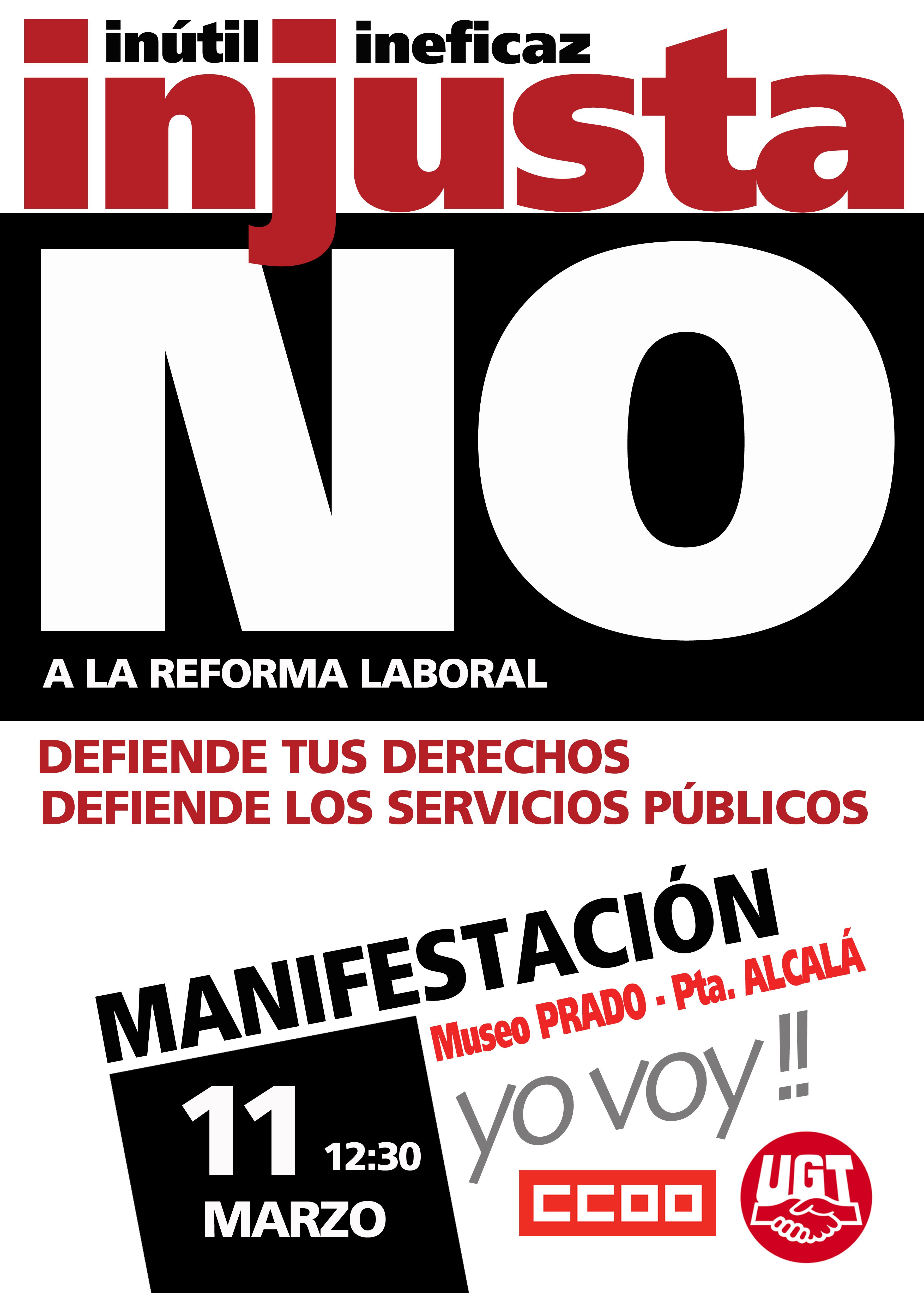 Manifestacion 11M