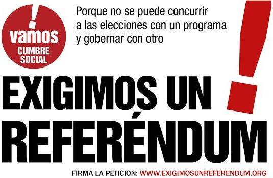 Firma aquí: http://www.exigimosunreferendum.org/firmalapeticion/